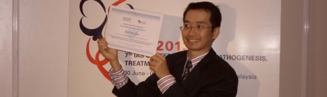 Dr Sin How Lim - Sole Malaysian Recipient of the Joint IAS-NIDA Research Fellowship Award 2013
