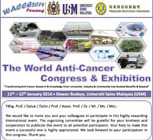 Conference: The World Anti-Cancer Congress & Exhibition