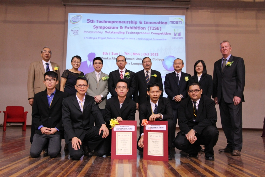 Press Release: UTAR and UM students emerged as winners of the 2nd Outstanding Technopreneur Competition 2013