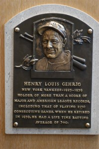 Henry Louis Gehrig, the famous baseball player of New York Yankees, suffered from pure ALS, for which the disease was also named after. Photo by Robert Gusick/Flickr.