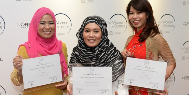 L'Oréal-UNESCO For Women in Science Award Malaysia 2015