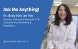 Ask Me Anything (AMA) session: Dr Betty Kim Lee Sim