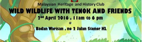 Event: Wild Wildlife with Tenok and Friends
