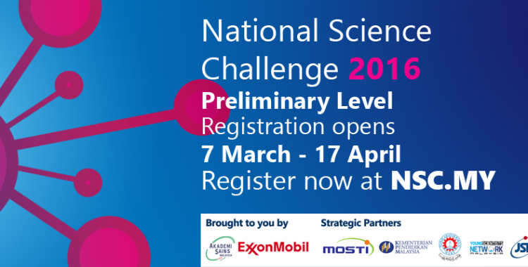 Competition: National Science Challenge 2016
