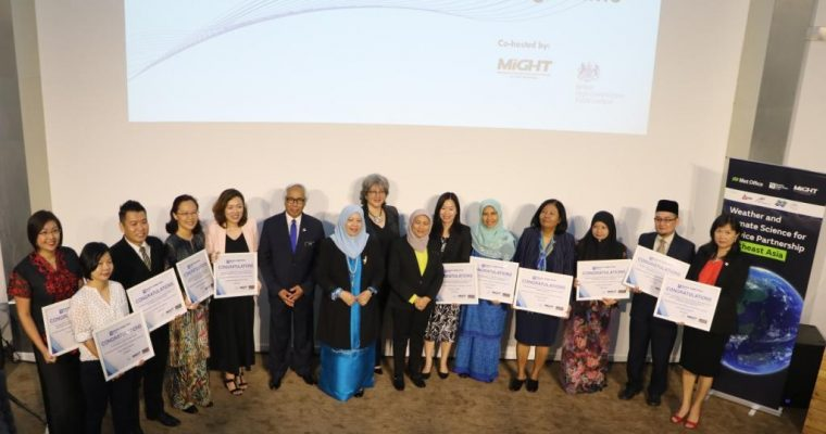 Science, technology and innovation community comes together at Newton-Ungku Omar Fund Open Day