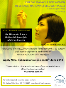 FWIS 2013 flyer -call for submission