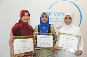 For Women in Science National Fellows (2012)