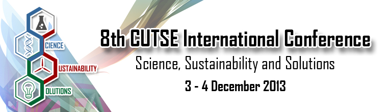 Conference: The 8th CUTSE International Conference in Miri, Sarawak (3-4 December 2013)