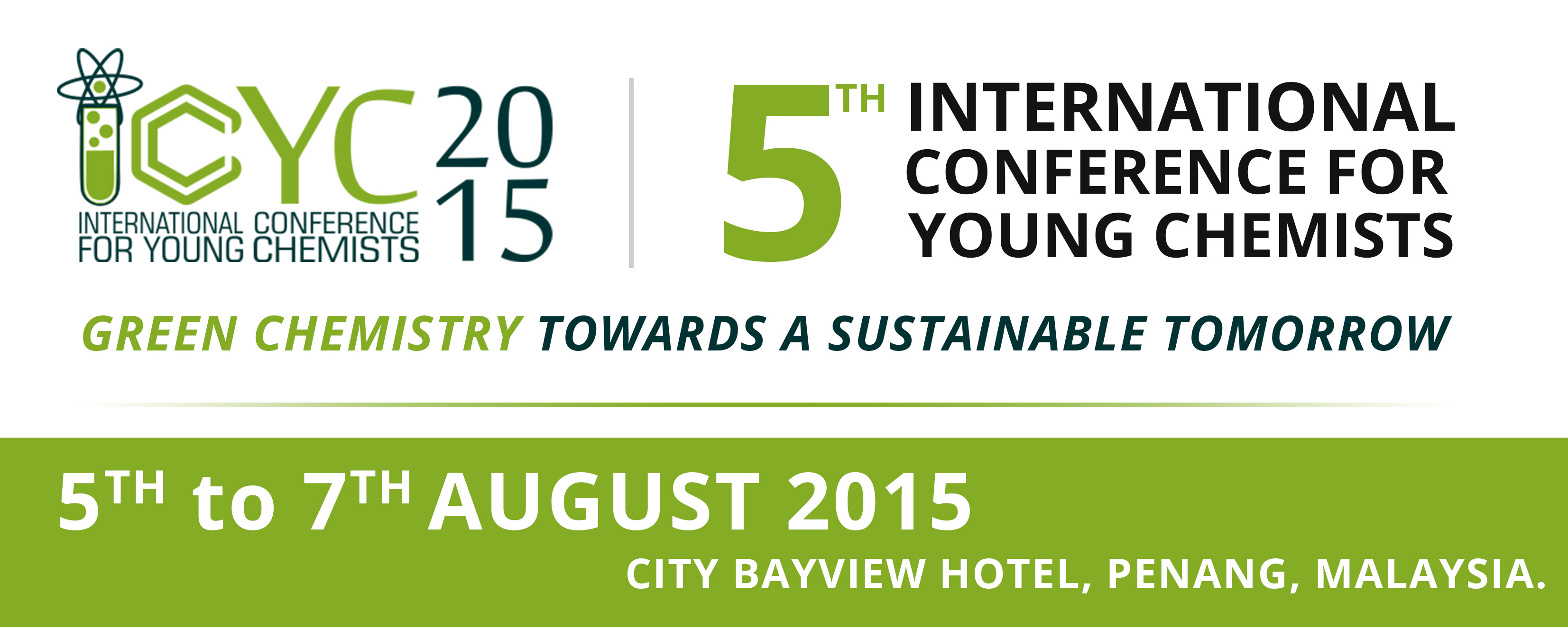 Conference: International Conference for Young Chemists (ICYC) 2015, Malaysia