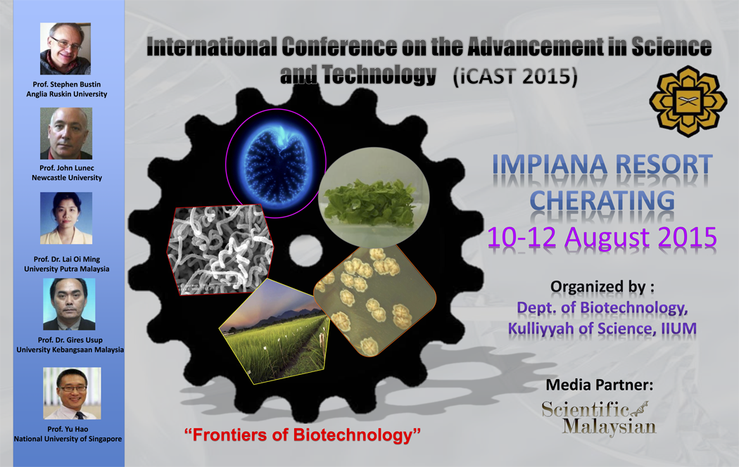 Conference: 5th International Conference on Advancement in Science and Technology (iCAST 2015)