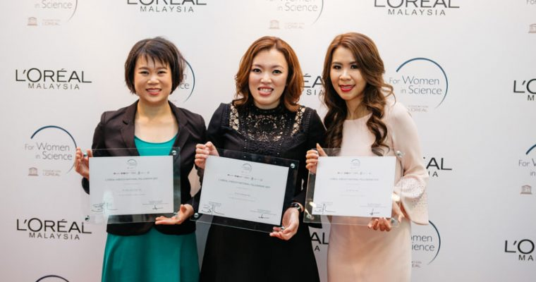 L'Oréal-UNESCO honours three outstanding Malaysian women scientists in annual award
