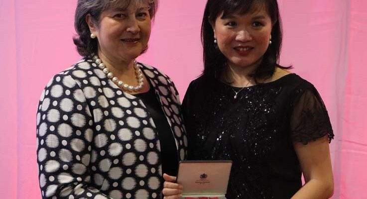 Malaysian Professor Awarded Honorary OBE from HM Queen Elizabeth II